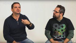 Tecnologia e humor em um bate-papo com Carioca e Junior Nannetti