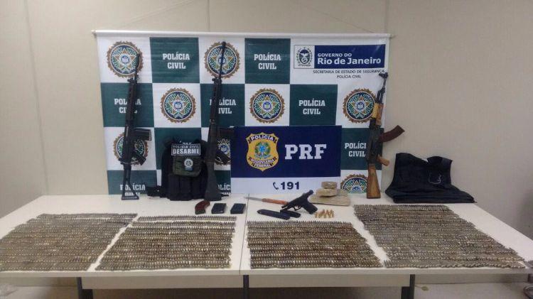 Divulgação Polícia Civil RJ