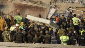 Sobe para 318 número de mortos por terremoto no México