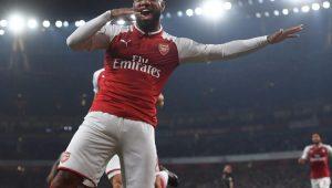 Lacazette marca dois e Arsenal bate o West Bromwich em casa no Inglês