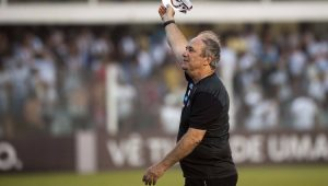 Futebol Santos Levir Culpi