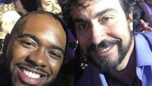 Tietado, padre Fábio de Melo organiza fila para selfies no Rock in Rio
