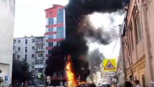Incêndio de grandes proporções em hotel na Rússia deixa ao menos dois mortos