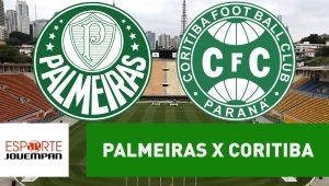Acompanhe ao vivo a narração de Palmeiras e Coritiba