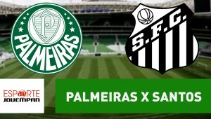 Acompanhe ao vivo a narração de Palmeiras x Santos
