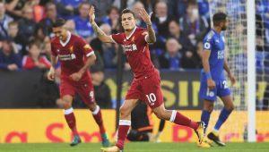 Coutinho marca, dá assistência e garante vitória do Liverpool sobre o Leicester