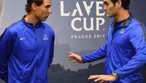 Atuando juntos na Laver Cup, Federer e Nadal são estrelas de torneio inédito