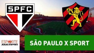 Acompanhe ao vivo a narração de São Paulo x Sport