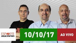 Assista ao Esporte em Discussão de 10/10/17