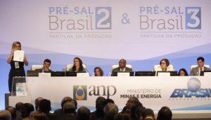 Economia Pré-Sal Leilão ANP