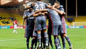 Tosun fez dois gols e garantiu a vitória do Besiktas ante o Monaco