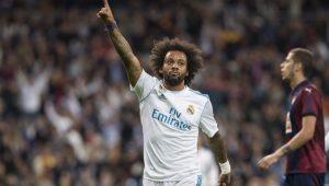 Com gol de Marcelo, Real Madrid bate Eibar e encosta no Valencia