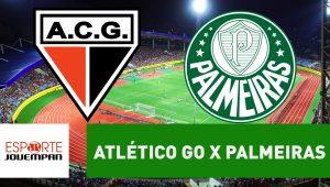 Acompanhe ao vivo a narração de Atlético-GO x Palmeiras
