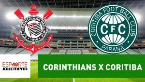 Acompanhe ao vivo a narração de Corinthians x Coritiba