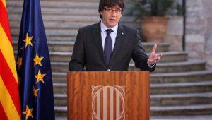 Ex-líder da Catalunha diz que pode governar a partir da Bélgica