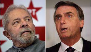 Política Eleições 2018 Lula Bolsonaro