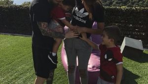 Futebol Messi Família