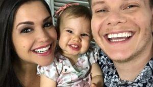 Melinda, filha de Michel Teló e Thais Fersoza