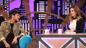 Neymar participou do programa lady Night de Tatá Werneck e falou sobre Bruna Marquezine