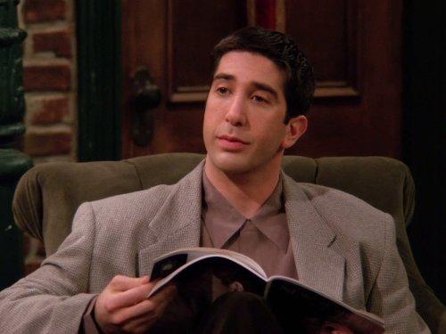 """David Schwimmer, o Ross Geller de """"Friends"""""""