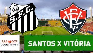 Acompanhe ao vivo a narração de Santos x Vitória