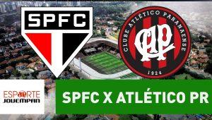 Acompanhe ao vivo a narração de São Paulo x Atlético-PR