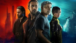 "Jared Leto, Ryan Gosling e Harrison Ford em ""Blade Runner 2049"""