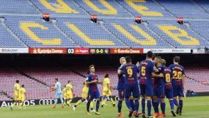 Futebol Campeonato Espanhol Barcelona Las Palmas