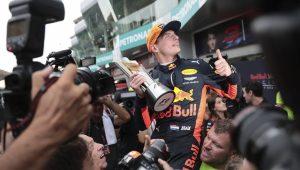 Red Bull anuncia renovação do contrato de Verstappen até 2020