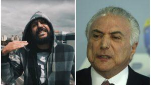 """Gabriel O Pensador volta a """"matar"""" o presidente do Brasil; veja críticas da música a Temer"""