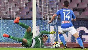 Napoli empata com a Inter de Milão em casa, mas segue na frente no Italiano
