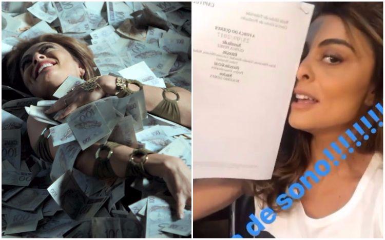 """Juliana Paes mostra roteiro do episódio final de """"A Força do Querer"""""""