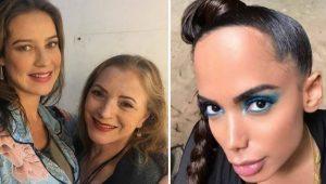 """Mãe de Luana Piovani polemiza com Anitta: """"Orelha de Belzebu"""""""