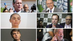 Os planos de Ciro, Alckmin, Doria, Marina, Lula e Bolsonaro para a economia