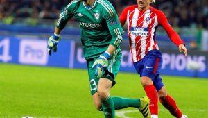 Futebol Liga dos Campeões Qarabag Atlético de Madrid