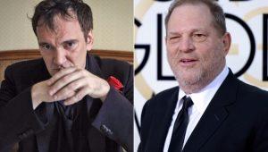 Quentin Tarantino admite que sabia de abusos sexuais de Harvey Weinstein