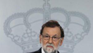 Rajoy prevê afastamento de Puigdemont e novas eleições em até 6 meses