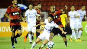 Santos empata com Sport e desperdiça nova chance de encostar no líder Corinthians