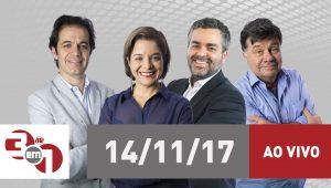 """Assista na íntegra ao """"3 em 1"""" desta terça-feira (14/11/2017)"""