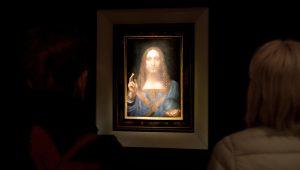 Quadro de Leonardo da Vinci é leiloado em Nova York por US$ 450,3 milhões