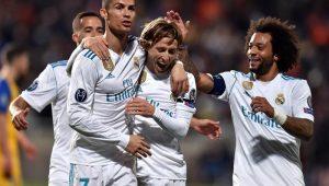 Real faz 6 a 0 no Chipre e avança na Liga dos Campeões; Tottenham passa em 1º