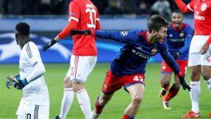 CSKA vence Benfica com gol contra de Jardel e elimina time português