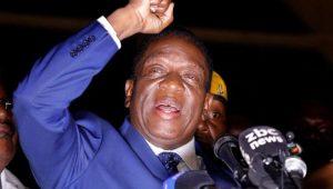 Emmerson Mnangagwa assume como presidente provisório do Zimbábue