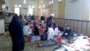 Ataque em mesquita no Sinai mata ao menos 200 pessoas