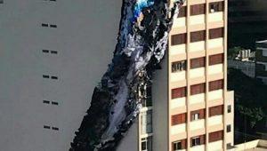 Bombeiros fazem alerta após balão cair e iniciar incêndio em São Paulo