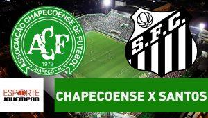 futebol, campeonato brasileiro, santos, chapecoense