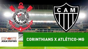 Corinthians x Atlético-MG: acompanhe o jogo ao vivo na Jovem Pan