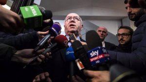 Presidente da Federação Italiana de Futebol renuncia ao cargo