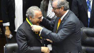 Michel Temer é empossado como presidente da República por Eduardo Cunha
