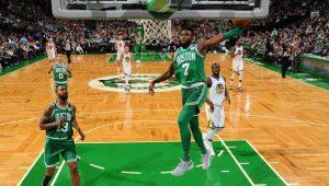 Defesa faz a diferença, Celtics batem Warriors e chegam a 14 jogos invictos